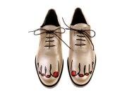 Comme Des Garcons Toe Shoes