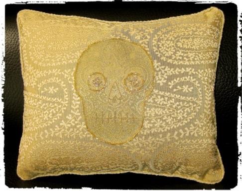 PillowGoldSkullNabhan